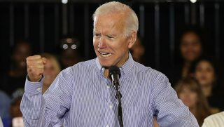 Former Vice President Joe Biden campaigns for Florida Democratic gubernatorial nominee Andrew Gillum and U.S. Sen. Bill Nelson in Tampa on Oct. 22.