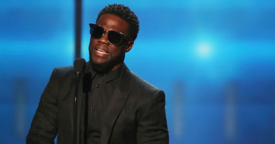 Kevin Hart presents the award for AP Most Valuable Player at the 7th Annual NFL Honors at the Cyrus Northrop Memorial Auditorium on Feb. 3, 2018, in Minneapolis.