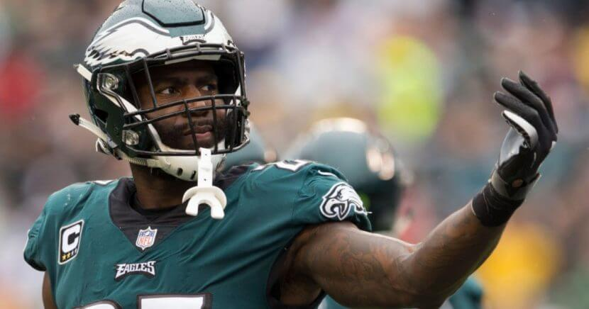 Malcolm Jenkins of the Eagles