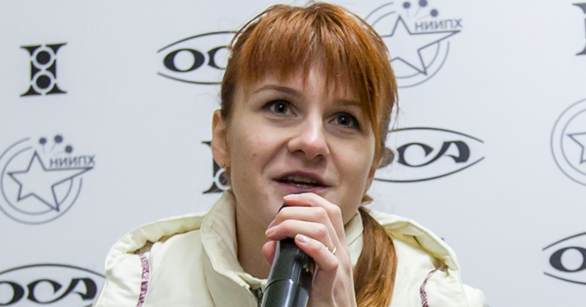 Maria Butina, shown in 2013, pleaded guilty to conspiring with a Russian government official against the U.S.