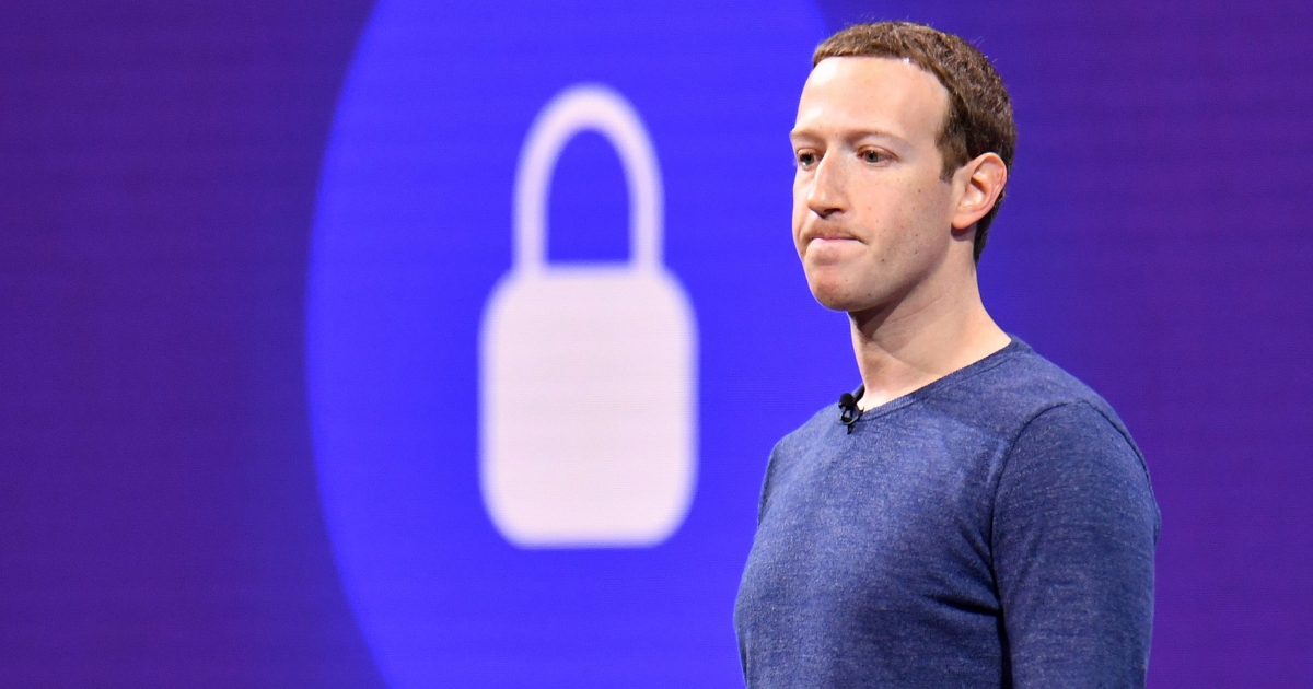 Facebook CEO Mark Zuckerberg speaks during the annual F8 summit at the San Jose McEnery Convention Center in San Jose, California, on May 1, 2018.