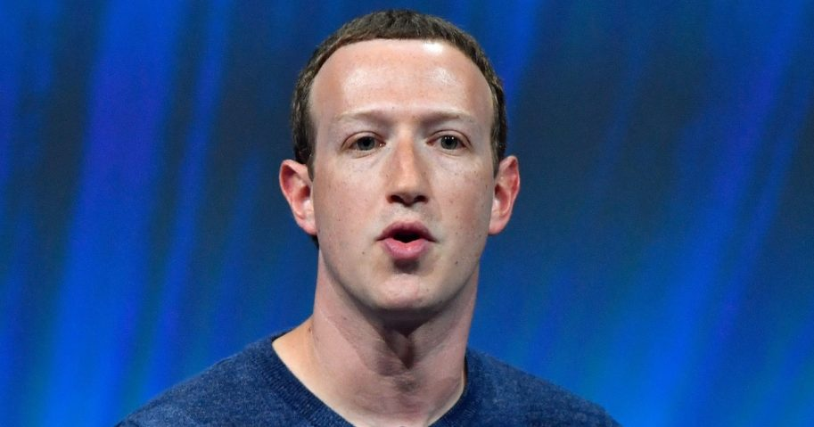 Facebook CEO Mark Zuckerberg speaks at an event in Paris on May 24.
