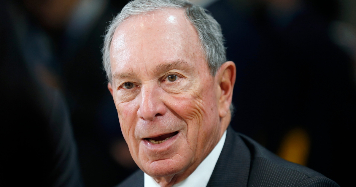Former New York Mayor Michael Bloomberg.