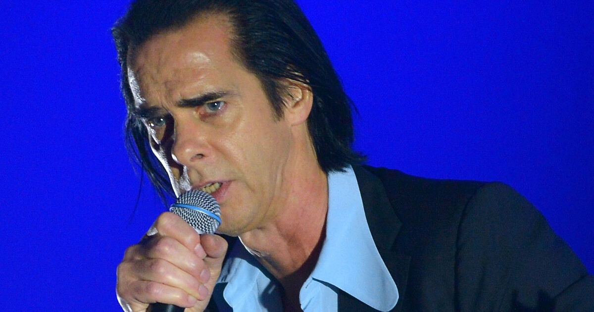 Nick Cave performs with the Bad Seeds on Sept. 30, 2017 in London.
