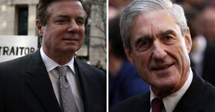 Paul Manafort and Robert Mueller