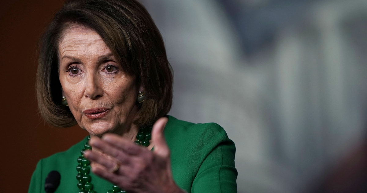 U.S. House Minority Leader Rep. Nancy Pelosi