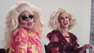 Drag queens in YouTube Rewind 2018.