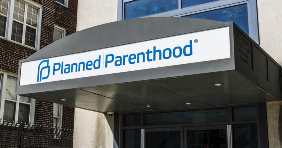 The exterior of a Planned Parenthood facility in Indianapolis.