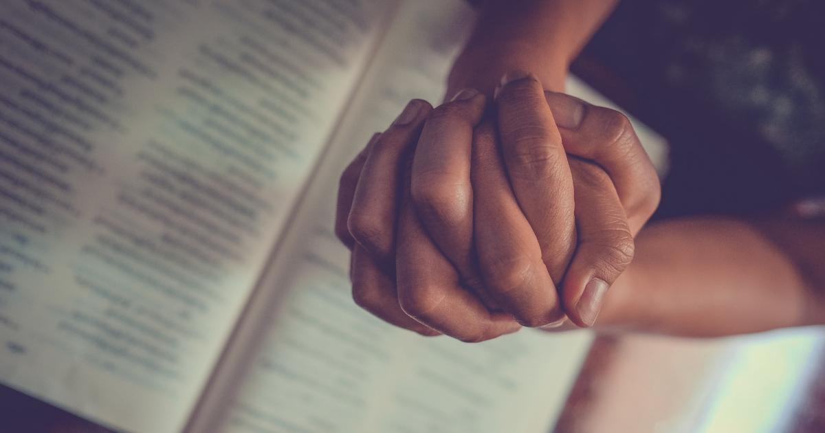 Prayer Over Bible