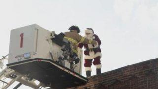 Santa Rooftop Rescue