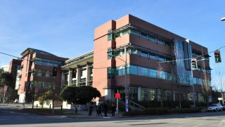 Sullivan Hall at the Seattle University School of Law.