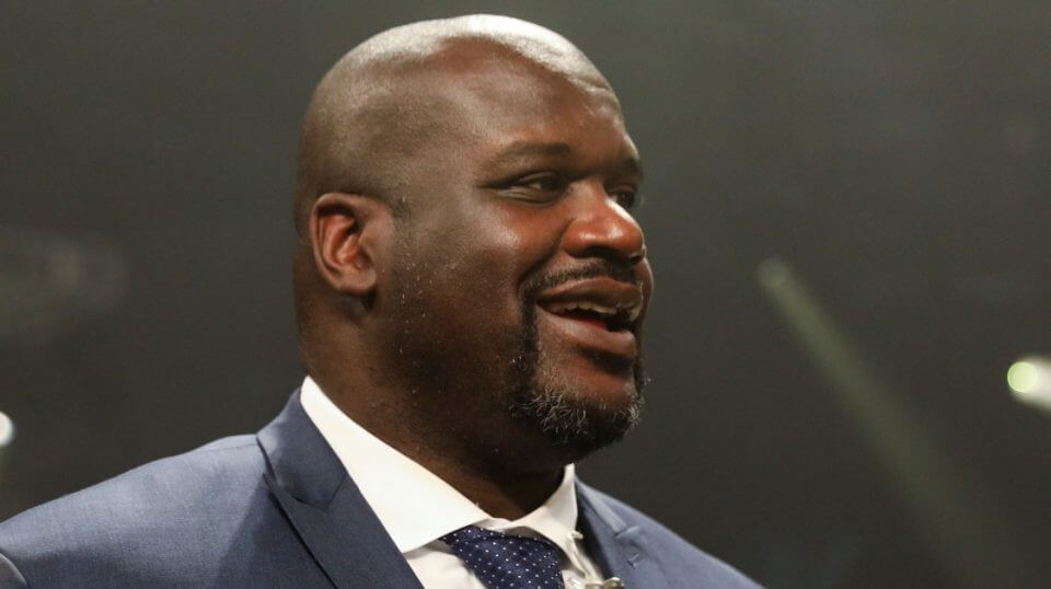 NBA legend and TNT analyst Shaquille O'Neal.