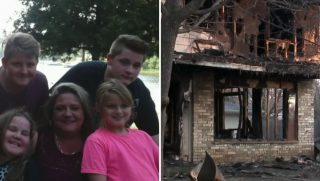 Teen Saves Family from Fire