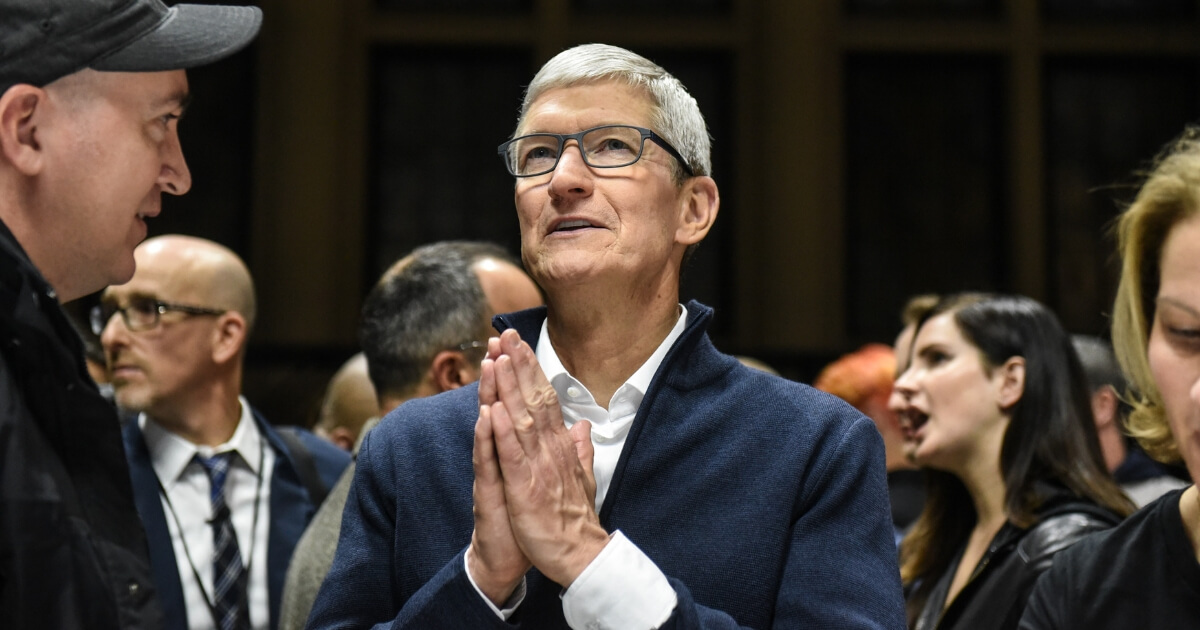 Apple CEO To Ban 'Sinful' Conservative Speech. Leaves 'F*** White People' and 'Suck My D*** H**' on iTunes