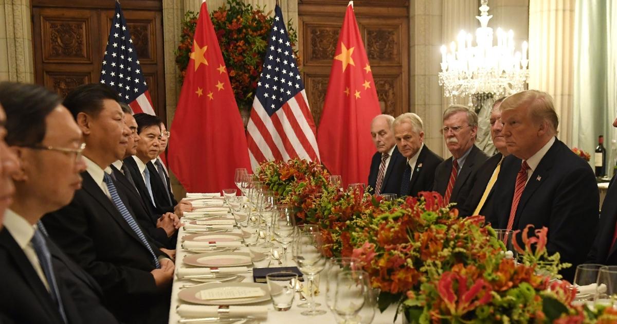 US China dinner