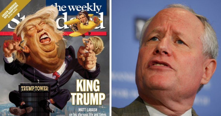 "The Weekly Standard is shutting down after 23 years. Co-founder and editor-at-large Bill Kristol was one of the more prominent faces of the ""Never Trump"" movement."