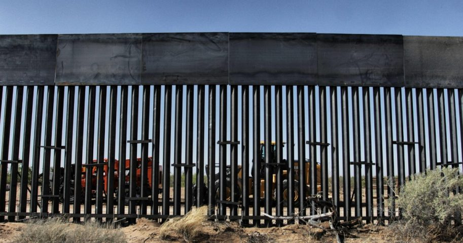 Wall on the southern border