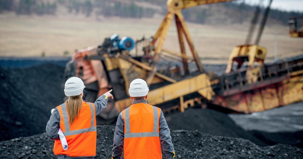 Coal mining plant