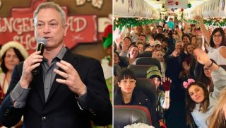 Actor Gary Sinise / Gold Star Children