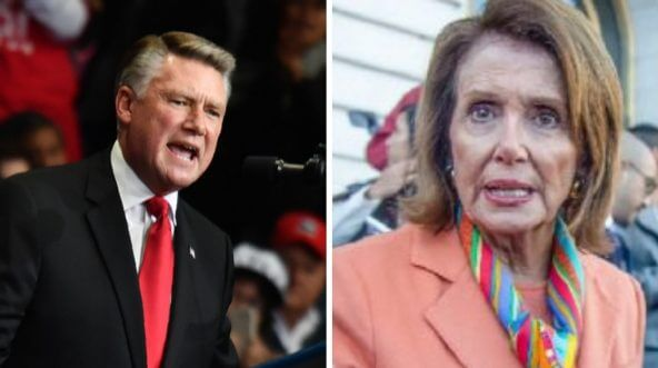 Mark Harris and Nancy Pelosi