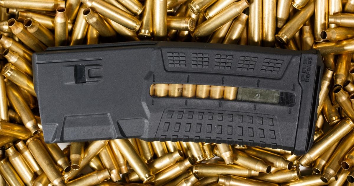 magazine and ammunition
