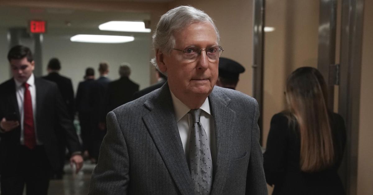 Senate Majority Leader Sen. Mitch McConnell