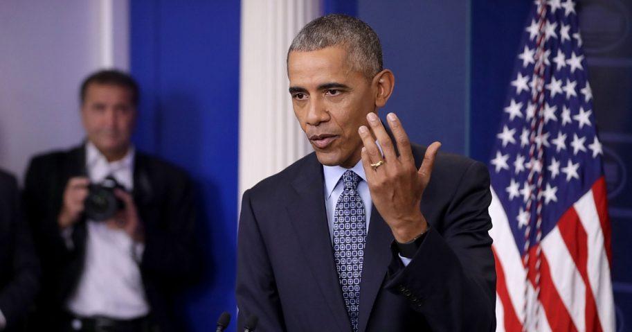Obama holds press conference