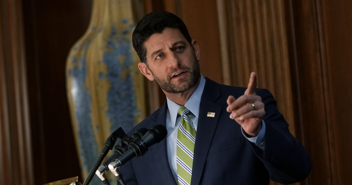 Speaker of the House Rep. Paul Ryan.