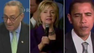 Chuck Schumer/Hillay Clinton/Barack Obama