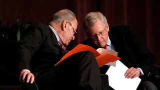 Senate Majority Leader Mitch McConnell and Senate Democratic Leader Chuck Schumer