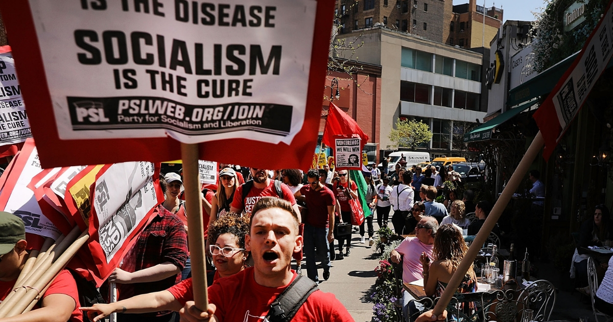 Socialism protest