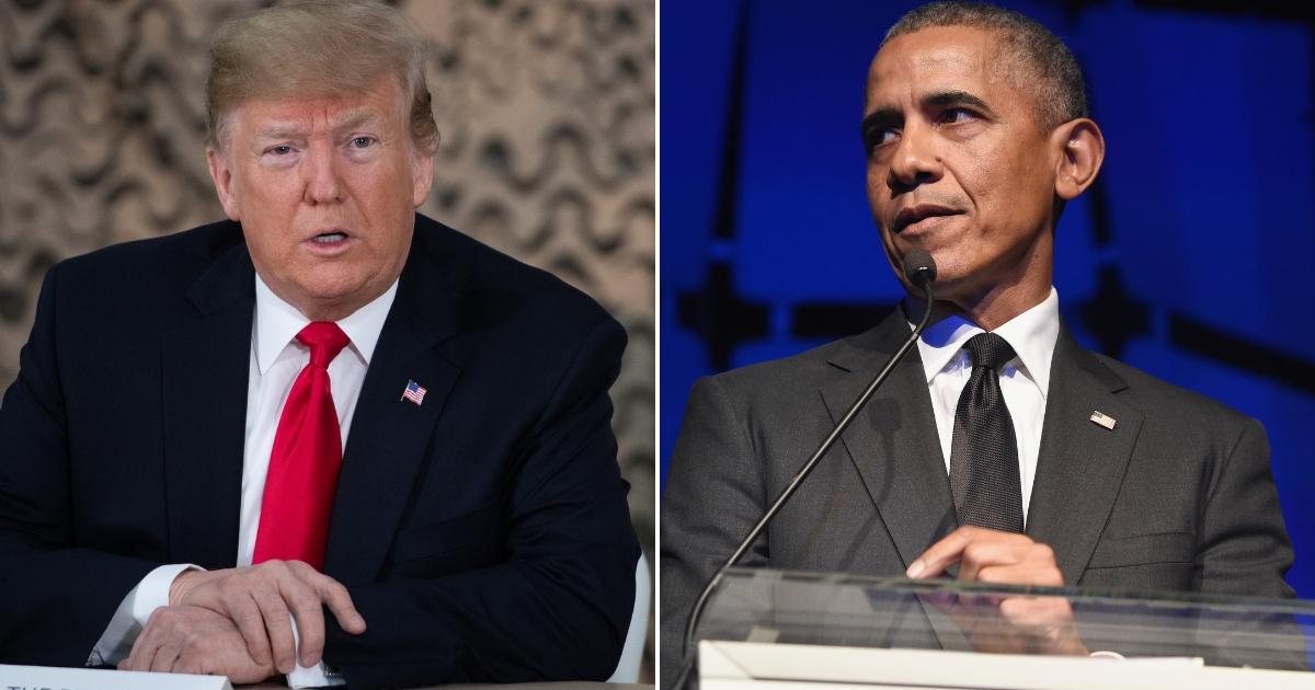Donald Trump / Barack Obama