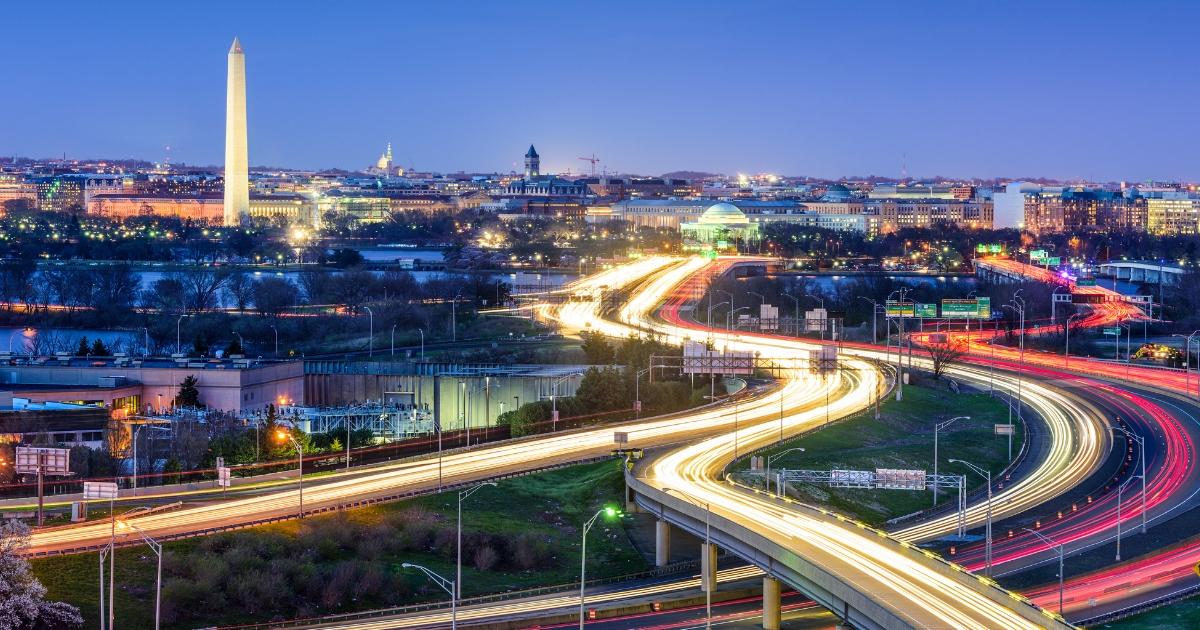 Washington, D.C. skyline