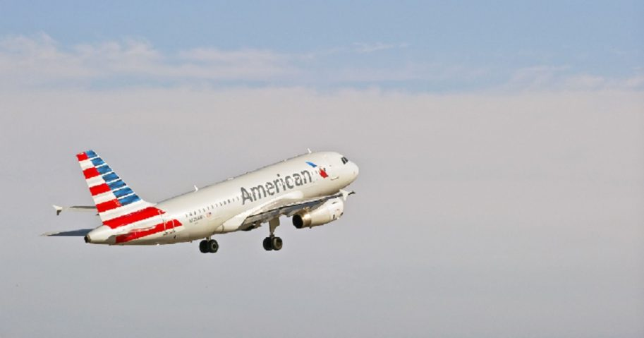 An American Airlines plane is pictured in a file photo from 2015.