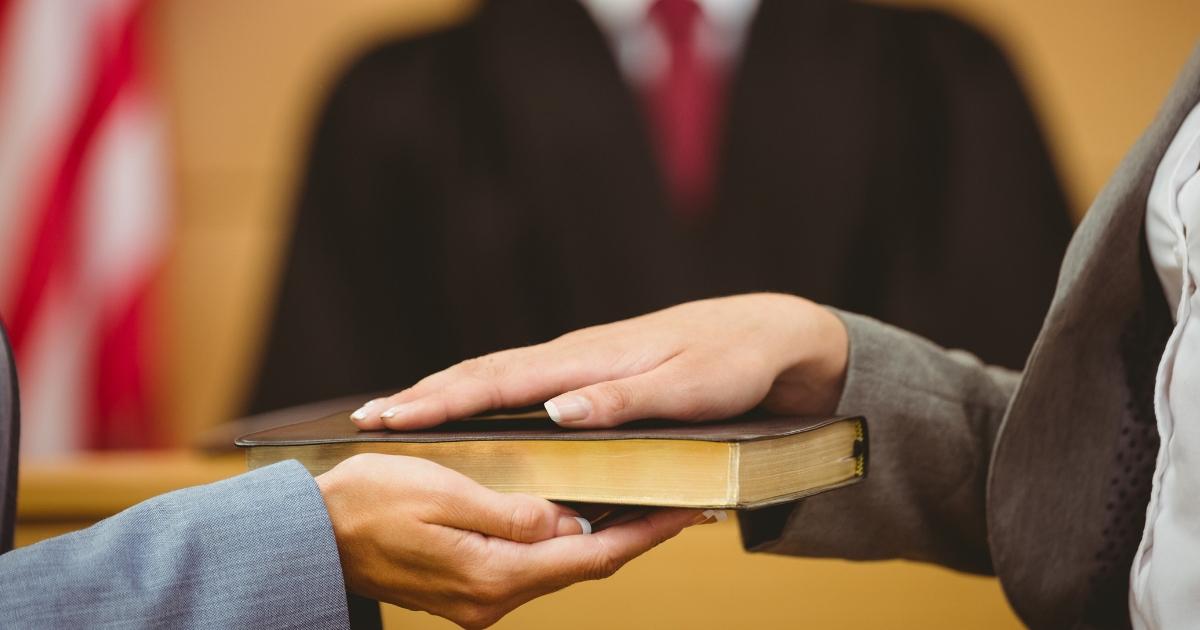 Bible Oath