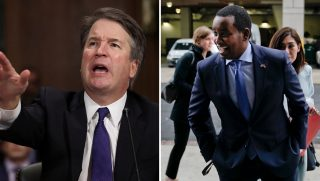 Brett Kavanaugh and Rep. Joe Neguse
