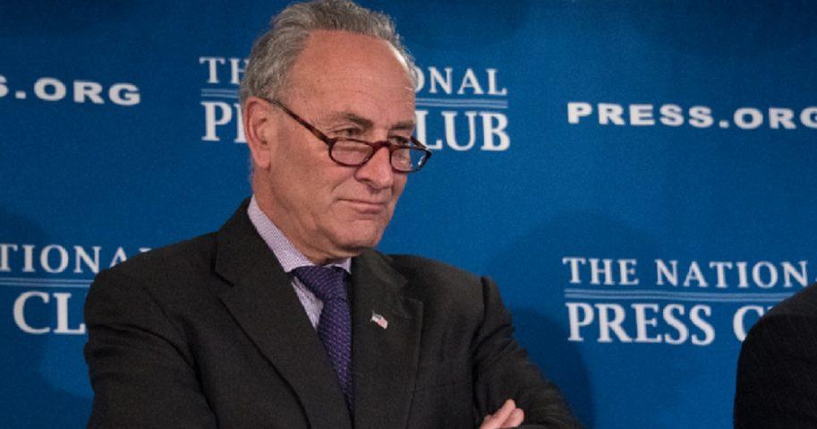 Senate Minority Leader Chuck Schumer in 2017 file photo.