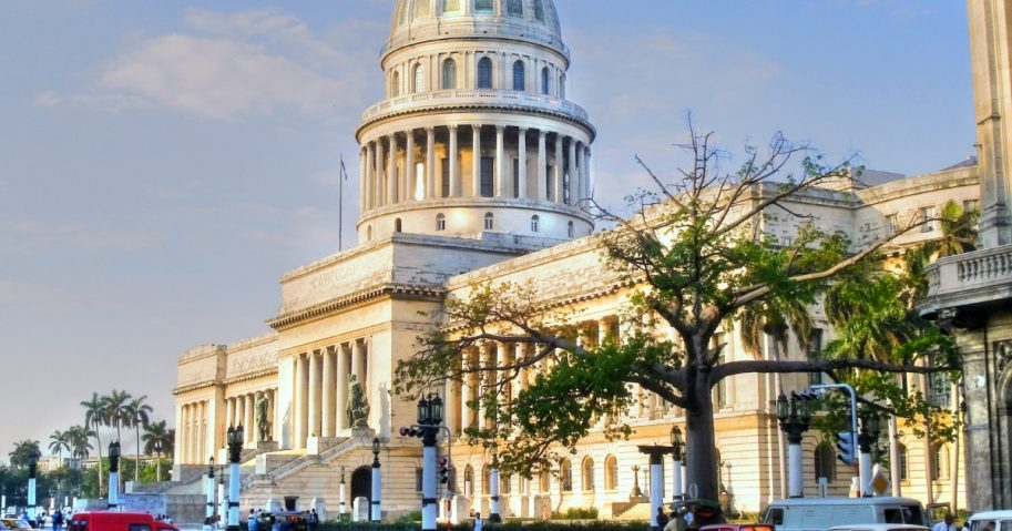 The National Capitol Building of Cuba in Havana.
