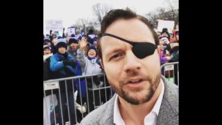 Dan Crenshaw at the March for Life