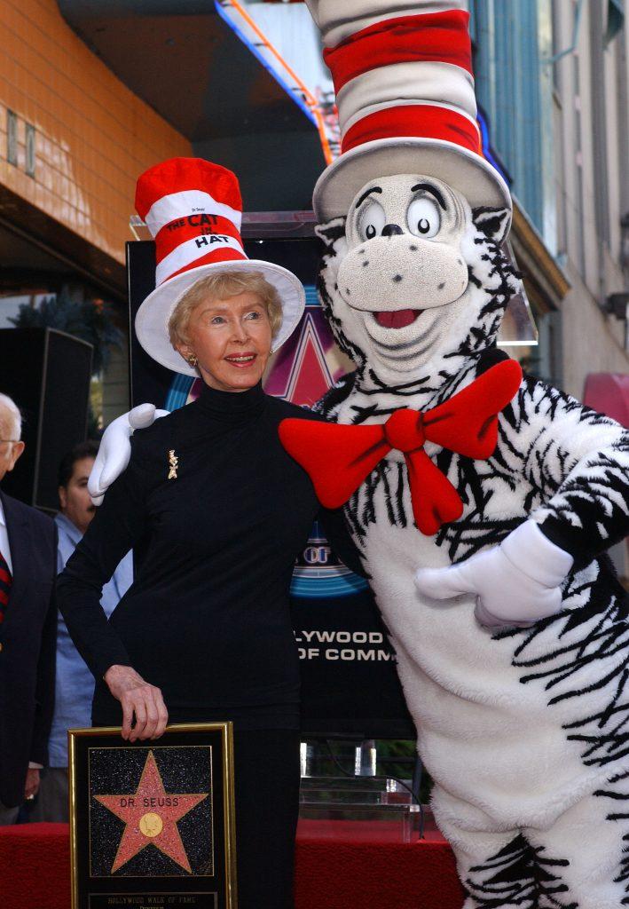 Audrey Geisel, the widow of Dr. Seuss