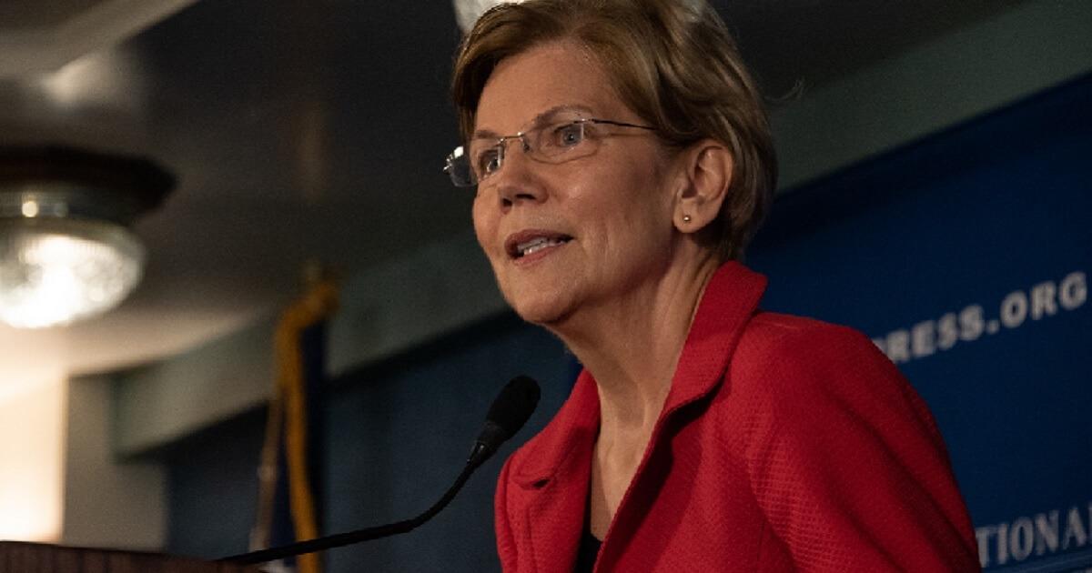 Elizabeth Warren in an August file photo.