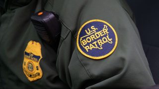 Border Patrol Patch