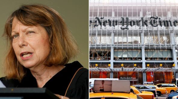 Former executive editor at the New York Times Jill Abramson / New York Times building