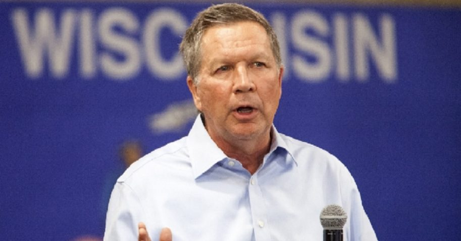 John Kasich in a 2016 file photo.