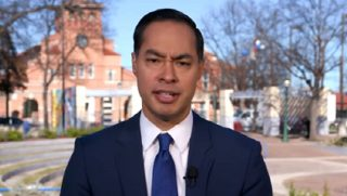 "Former House and Urban Development Secretary Julian Castro appears on ""Face the Nation"" on Sunday"