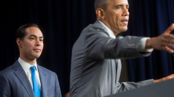 Julian Castro and Obama