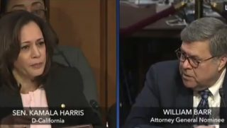 Sen. Kamala Harris questions William Barr.