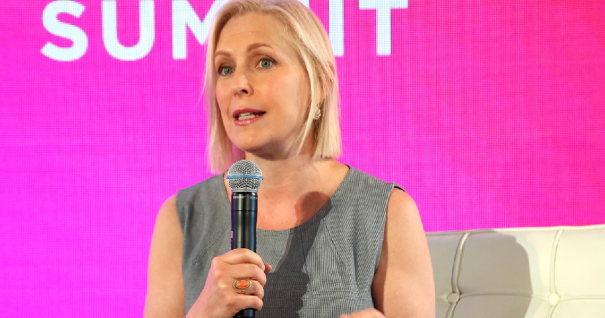 Kirsten Gillibrand in an August file photo.