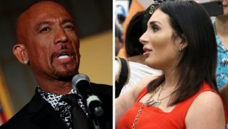 Montel Williams, left; and activist Laura Loomer, right.