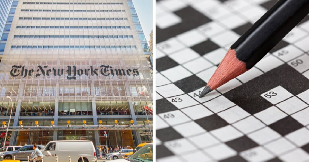 NYT Falls Victim to Own Political Correctness. Forced To Apologize for 'Racist' Crossword Answer